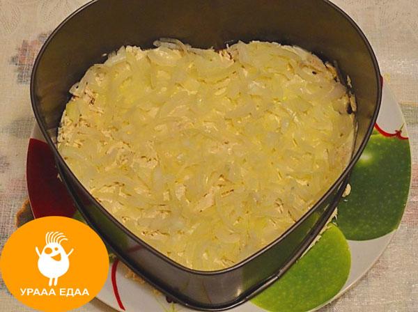 картофельная укладка