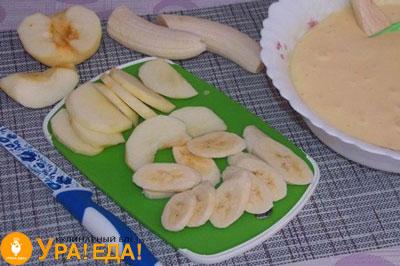 нарезка фруктов