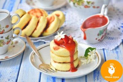 готовые сырники с манкой