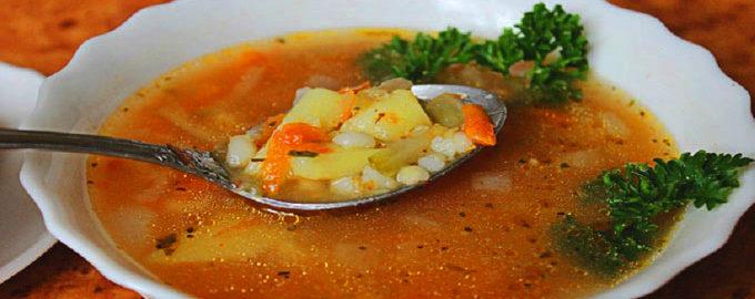 как варить рассольник с рисом и солеными огурцами пошаговый рецепт