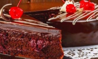 рецепт торта Пьяная вишня в домашних условиях с фото пошагово