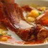гороховый суп с копчеными ребрышками пошаговый рецепт с фото в кастрюле