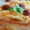 торт Наполеон из готового слоеного теста легкий и быстрый рецепт