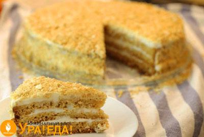 торт и отрезанный кусок от него