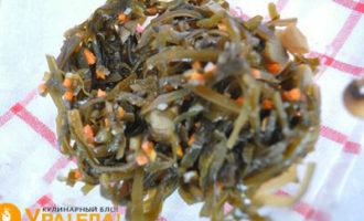 морская капуста с грибами