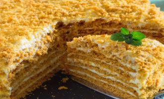 торт Медовик классический, рецепт с фото пошагово с заварным кремом