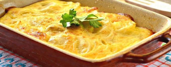 картофельная запеканка с фаршем в духовке, как в детском саду рецепт с фото