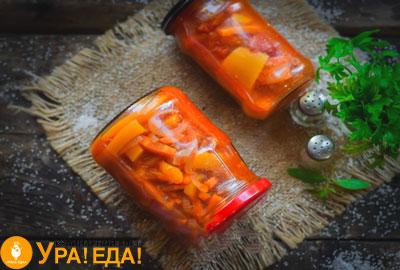 готовый салат в баночках