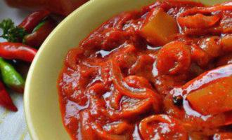 рецепты лечо из кабачков, помидор, перца, моркови, лука на зиму