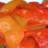лечо с томатной пастой на зиму из болгарского перца и морковки