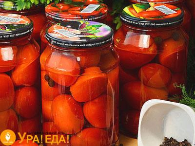 банки с помидорками