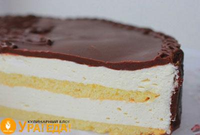 разрезанный тортик