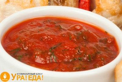томатно-укропный соус