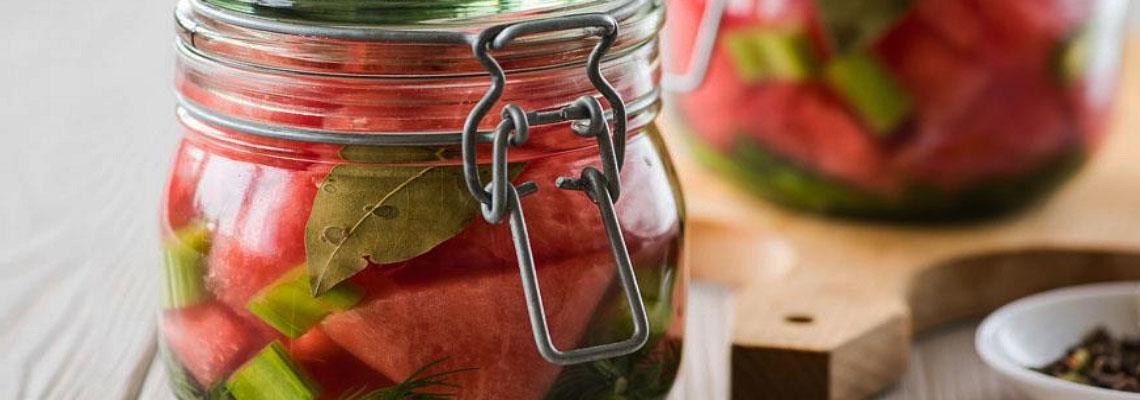 Маринованные арбузы в банках на зиму: рецепт вкусной заготовки