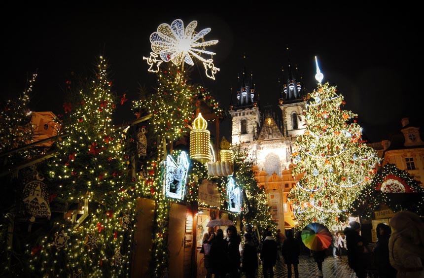 Провести новый год в Чехии
