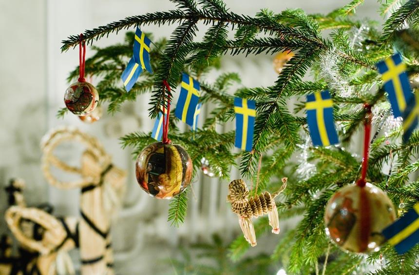 Провести новый год в Швеции